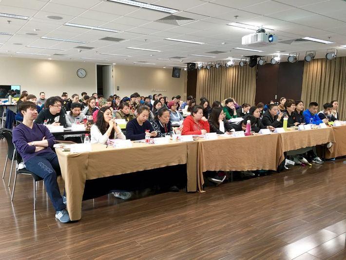 中國區教練培訓講座