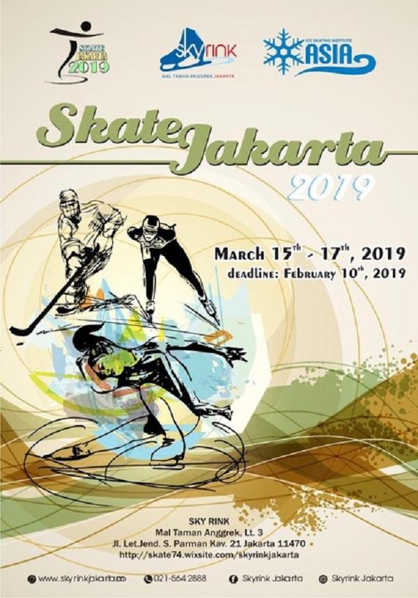 Skate Jakarta 2019 Poster