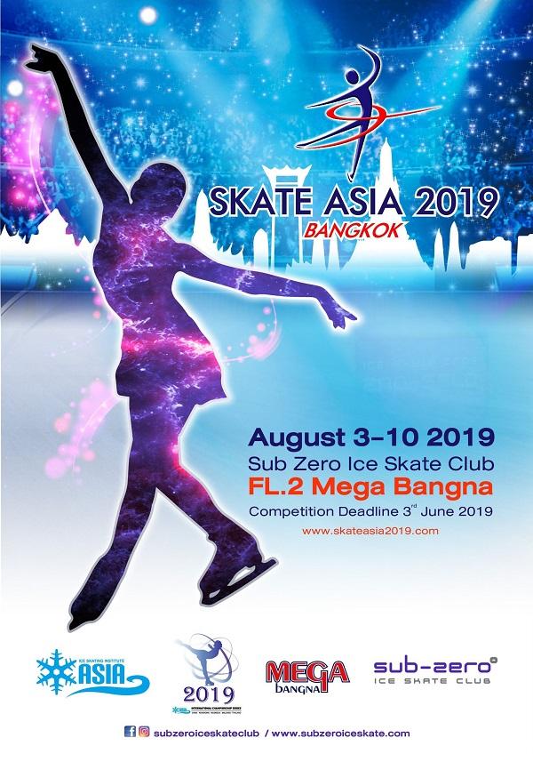 Skate Asia 2019 Poster