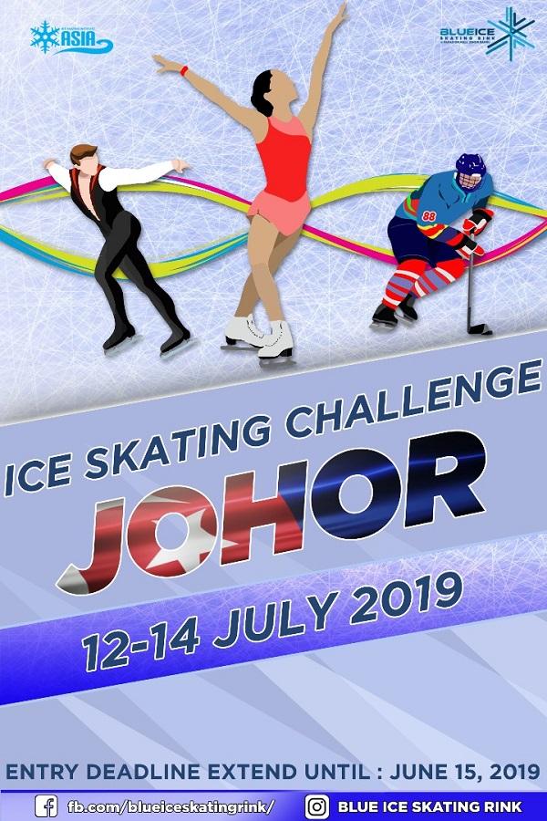 Johor Ice Skating Challenge Poster