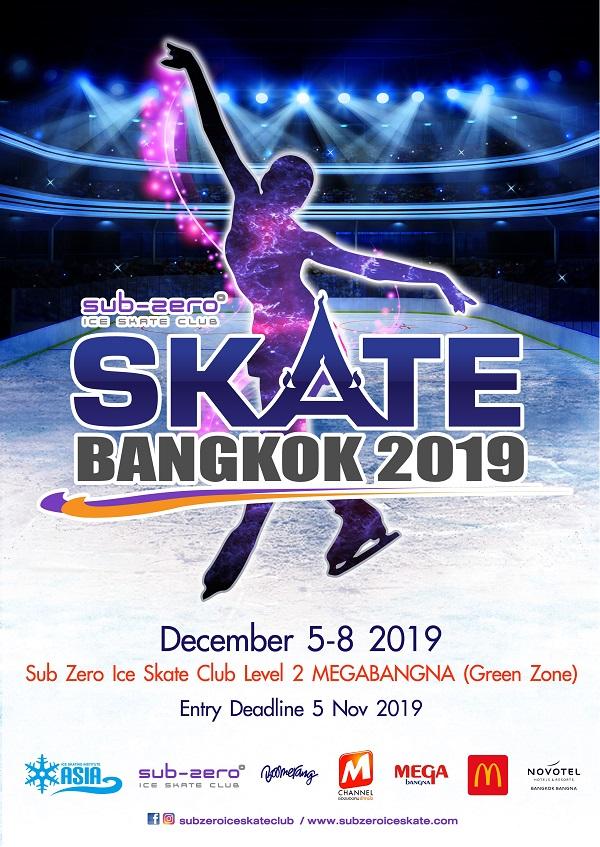 Skate Bangkok 2019 Poster