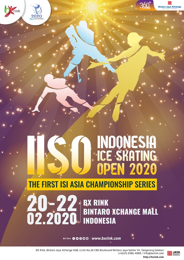 Indonesia Ice Skating Open 2020 Poster