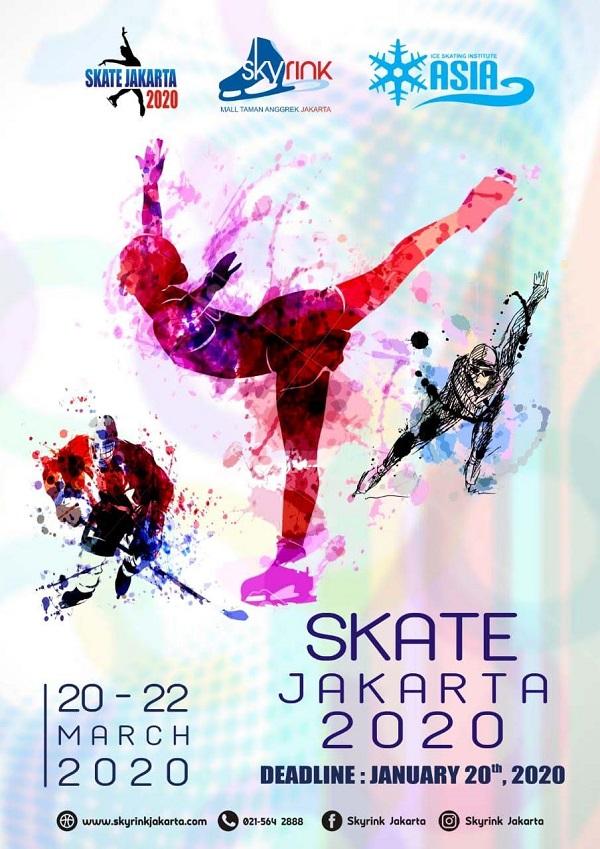 Skate Jakarta 2020 Poster