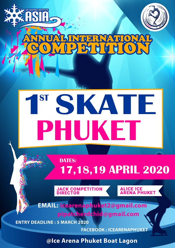 1st Skate Phuket Poster