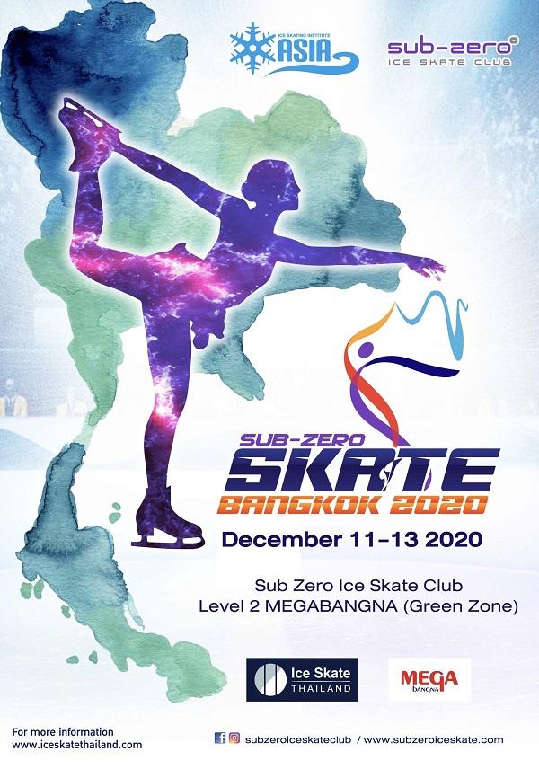 Skate Bangkok 2020 Poster