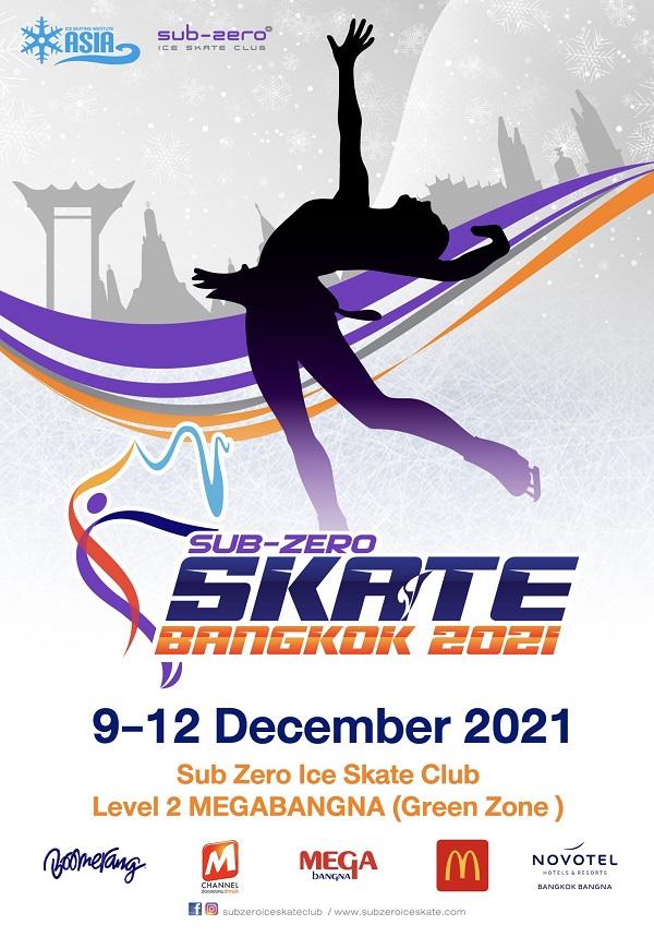 Skate Bangkok 2021 Poster