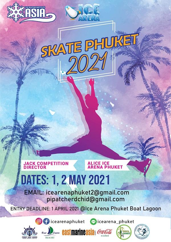Skate Phuket 2021 Poster