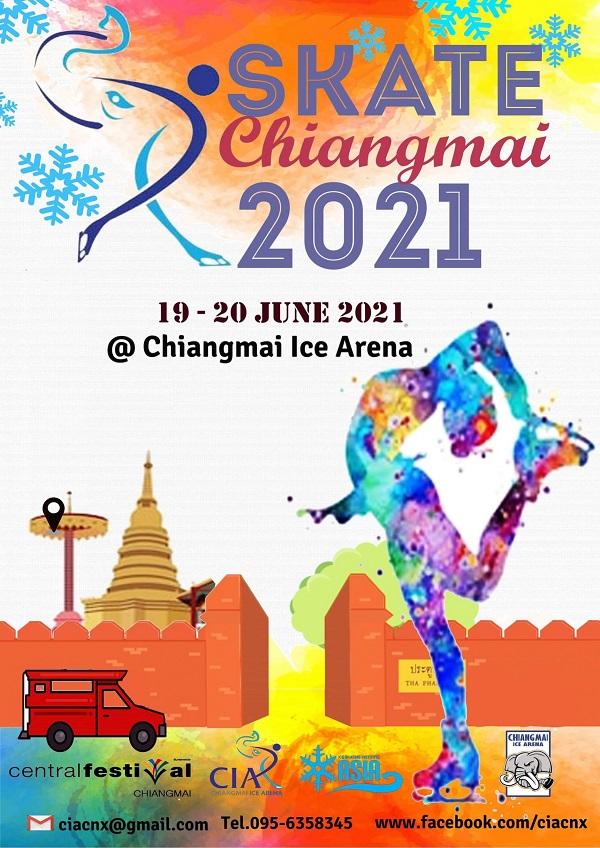 Skate Chiangmai 2021 Poster