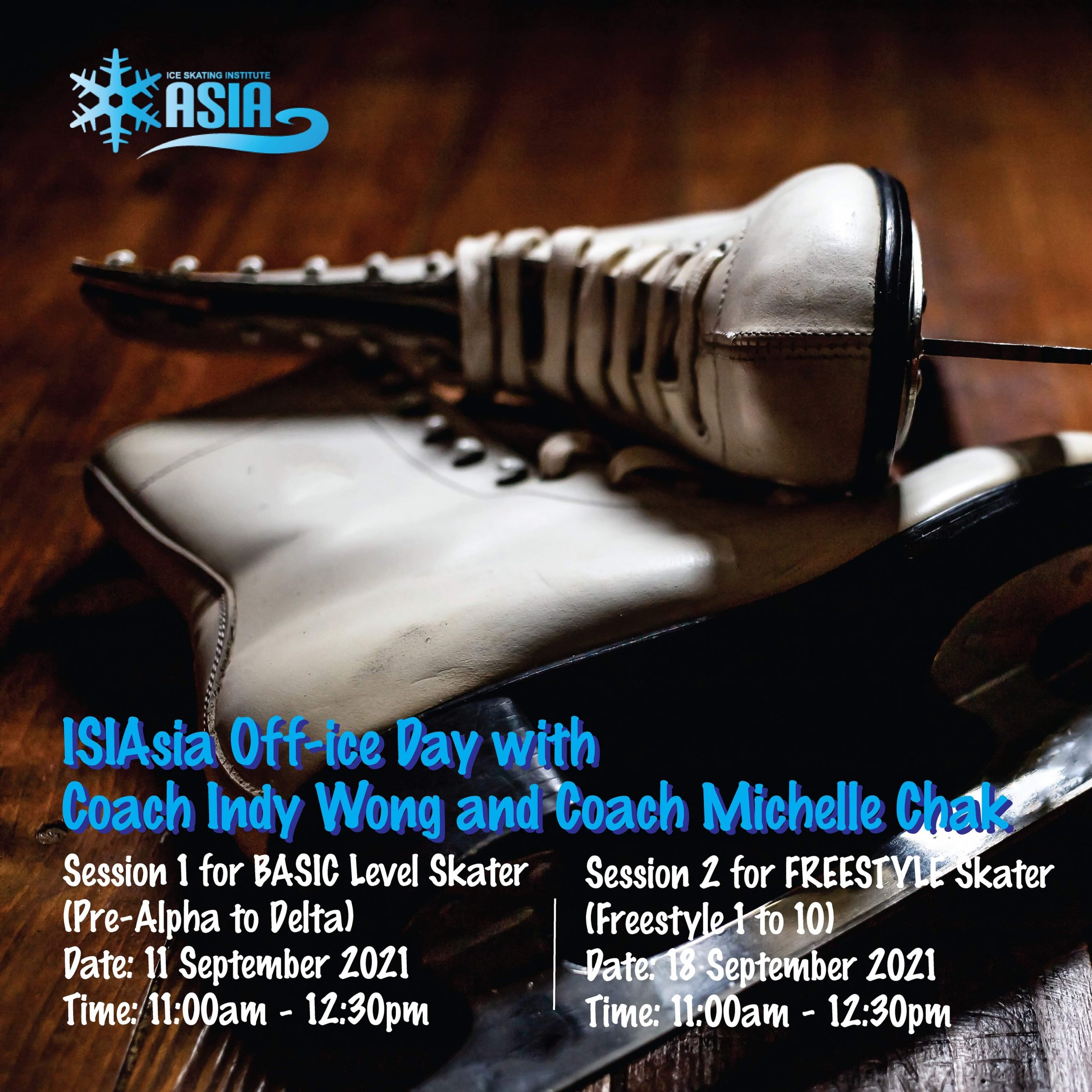 ISIAsia Off-Ice Workshop Poster